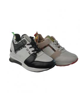 Sneaker Wedge Funky