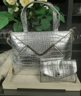 Zilveren Schoudertas